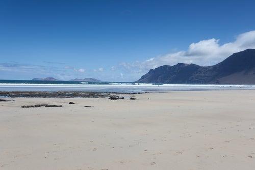Playa Famara en Teguise