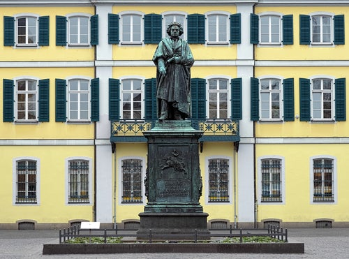 Estatua de Beethoven en Bonn
