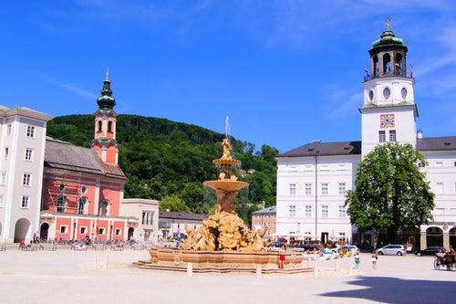 Residenzplatz en Salzburgo
