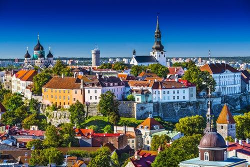 Tallín en Estonia