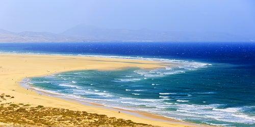 Playa de Sotavento en Fuerteventura