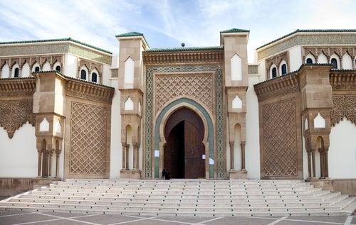 Mezquita Mohammed V en Agadir