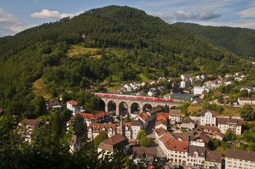 Tren panorámico en Hornberg