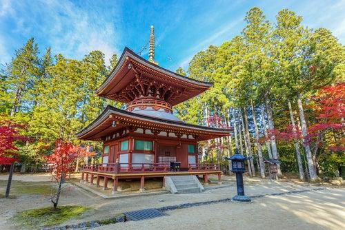 Koya San en Japón