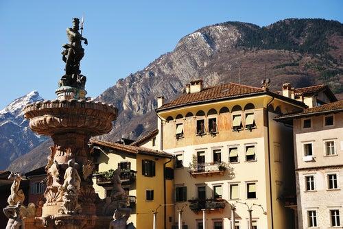 Trento en los Dolomitas