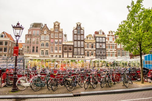 Bicicletas en Ámsterdam, Holanda