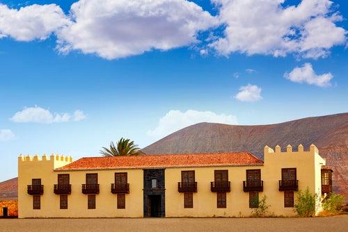 Casa de los Coroneles en La Oliva