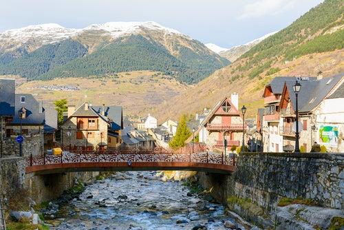 Vielha en el Pirineo catalán