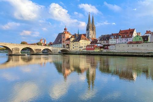 El Danubio en Regensburg