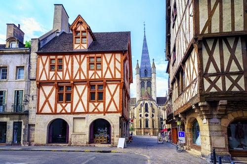 Dijon en Borgoña