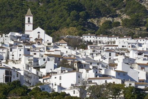 Casarabonela en el interior de Málaga