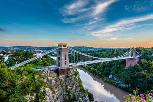 Puente Clifton en Bristol