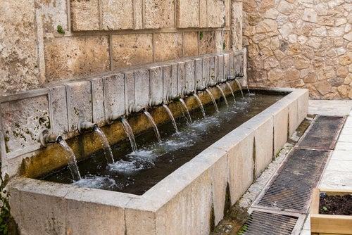 Fuente en Brihuega
