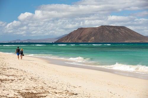 Isla de Lobos en Fuerteventura