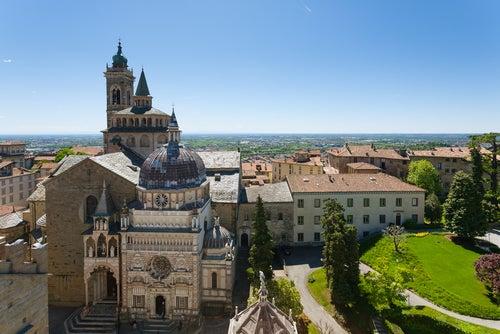 Basílica de Santa María la Mayor en Bérgamo
