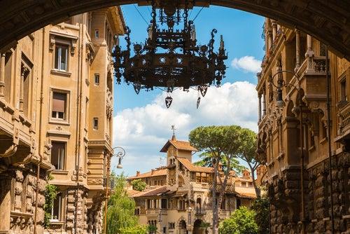 El barrio Coppedè, una Roma completamente diferente