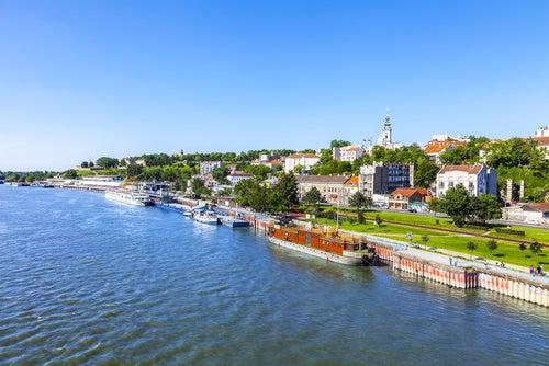 Danubio en Belgrado