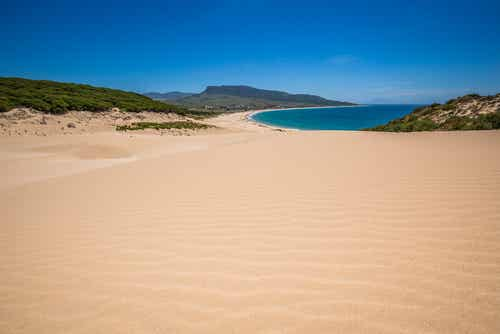 La playa de Bolonia en Tarifa, una de las más bonitas de España