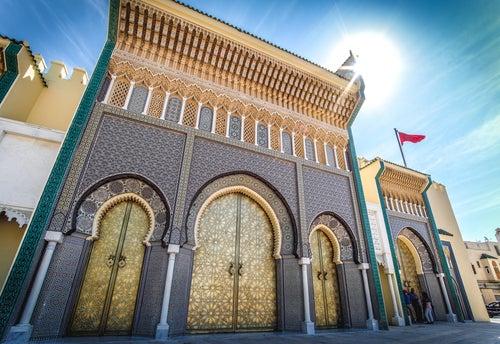 Palacio Real de Fez en Marruecos