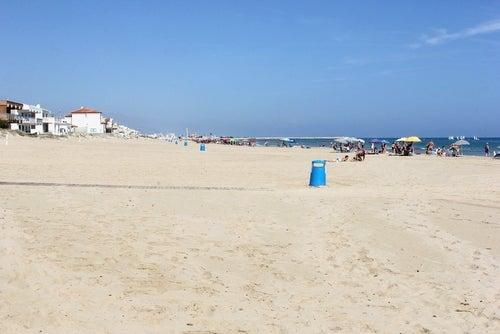 Playa de Oliva en la costa valenciana