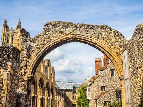 Abadía de San Agustín en Canterbury