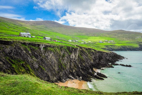 Acantilados deClogher en la península de Dingle