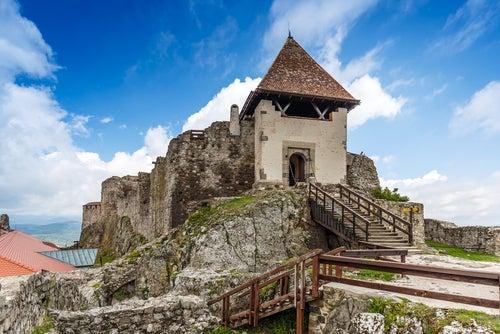Castillo de Visegrad en Hungría