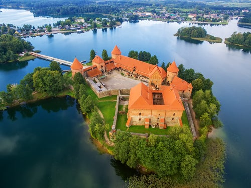 Castillo de Trakai, Lituania
