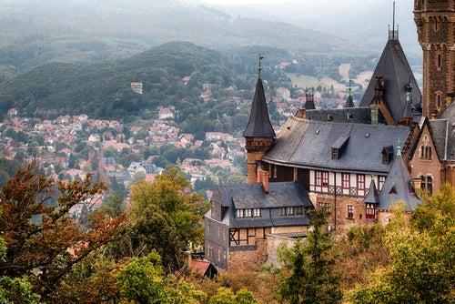 Wernigerode, un pueblo de postal en Alemania
