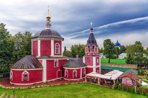 Súzdal en el Anillo de Oro de Rusia