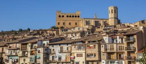 Castillo e iglesia deValderrobres