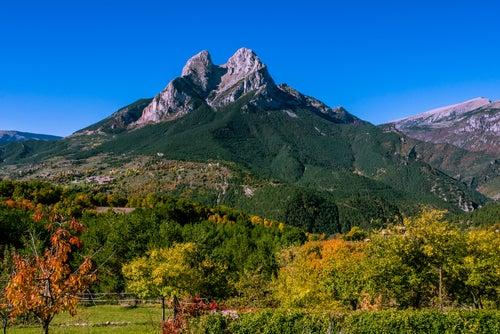 Pedraforca en el Pirineo catalán