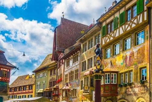 Pueblos de Suiza, Stein am Rehim