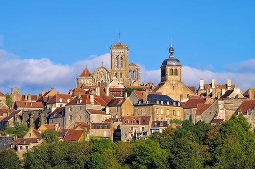 Vézelay en Borgoña