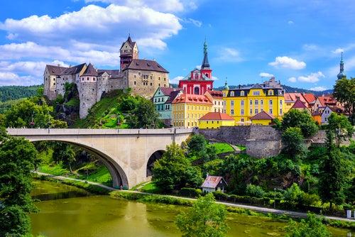 Loket en la República Checa, un lugar de cuento