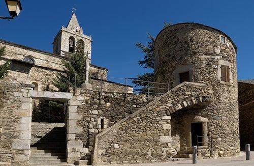 Llivia en el Pirineo catalán