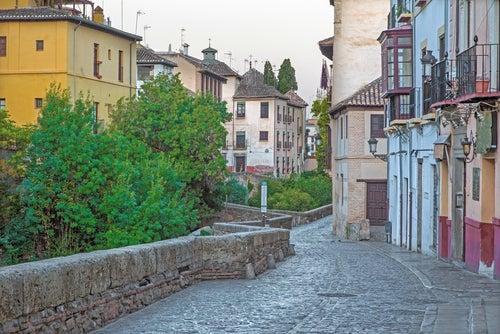 La Carrera del Darro, la calle más bonita de Granada