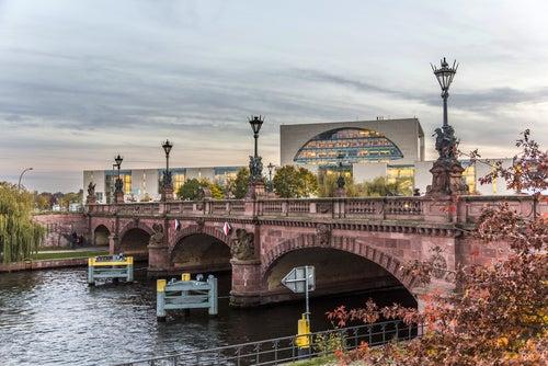 Puente Moltke en Berlín