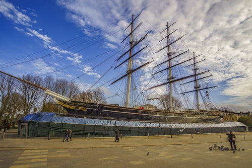 Cutty Shark en Greenwich