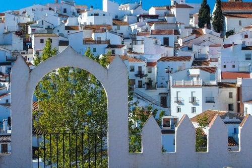 Comares en el interior de Málaga