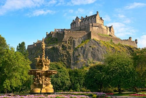 El castillo de Edimburgo, historia viva de Escocia