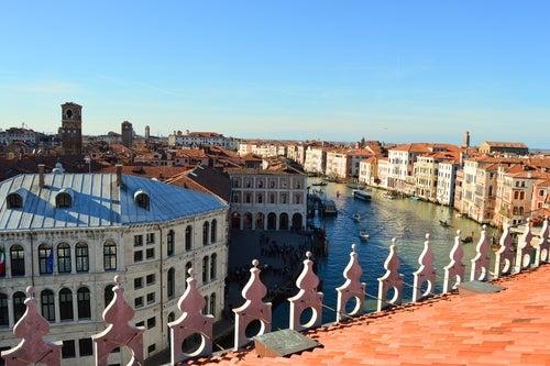 Vista desde Fondaco dei Tedeschi en Venecia