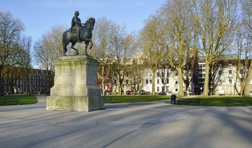 Queen's Square en Bristol