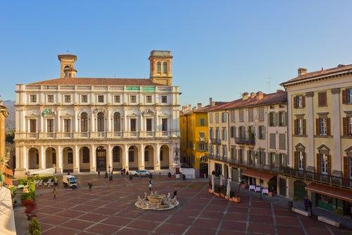 Palazzo del Podestà en Bérgamo