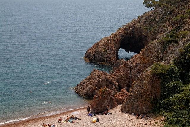 Pointe de l'Aiguille en la Costa Azul