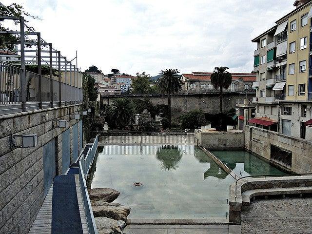 Termas As Burgas en Ourense