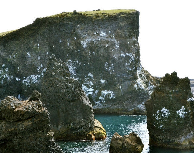 Acantilados de Hafnarberg en Islandia