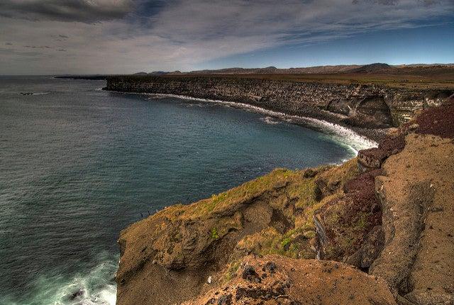 Krisuvikurberg en Islandia