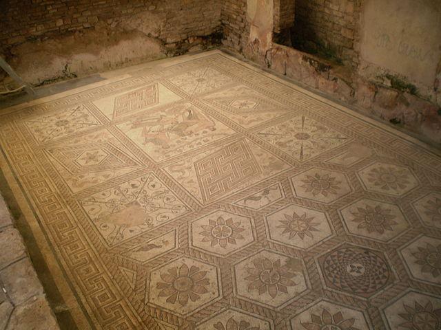 Mosaico en Pula