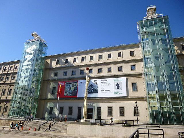 Museo Nacional Centro de Arte Reina Sofía Triangulo del Arte Madrid